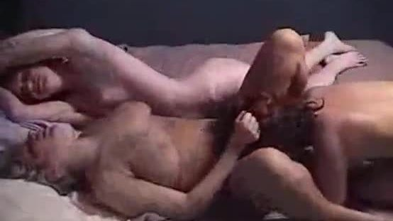Homemade Lesbian threesome filmed