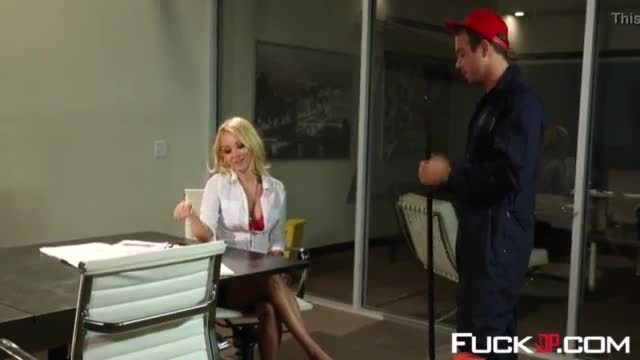 Aaliyah Love In Cleanup In The Boardroom