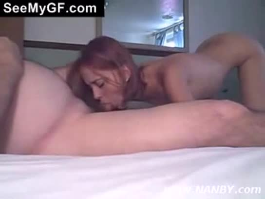 Amateur Hot Girlfriend gives a Nasty and Wet Blowjob